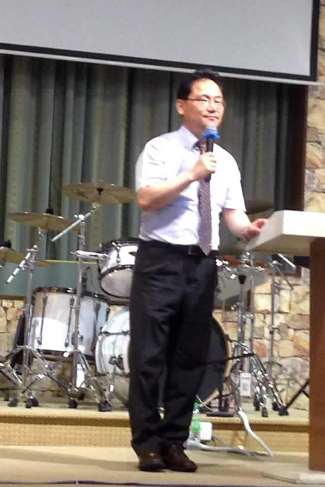 Korean Team Headed by Dr Kim from Yoido Full Gospel church of Korea